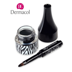 Gel kẻ mắt Dermacol Longlasting Gel Black - BLACK SENSATION  2.5ml