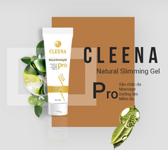 Cleena Natural Slimming - Gel tan mỡ