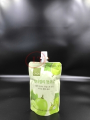 Stand Up Spout Pouch For Juice Jele