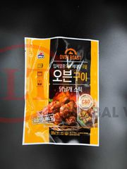 3 Side Seal Pouch For BBQ Chicken OVER ROAST