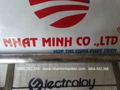 Thanh thiếc  Electroloy Malaysia Sn63/Pb37