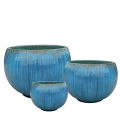 Squat Planter Set 3