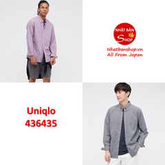 UNI NHẬT SALE OUTLET SƠ MI EXTRAFINE COTTON NAM