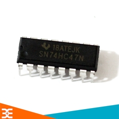 74HC47 BCD to 7-Segment Decoder/Driver with Open-Collector Outputs