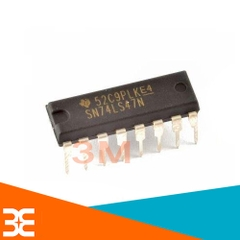 74LS47 BCD to 7-segment Decoder/Driver  DIP16