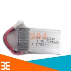 Pin Lithium 3.7V 300mAh 702030 20C