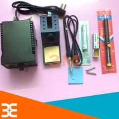 Combo máy hàn hakko 936 và phụ kiện (01 Sensor hàn A1321, 01 hút thiếc nhỏ, 02 mũi hàn 900M-TK, 01 bọt biển, 01 nhựa thông hộp )