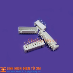 Header 2.54mm Đực Cong