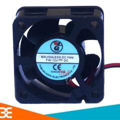 QUẠT TẢN NHIỆT 4x4x2.5cm 12VDC