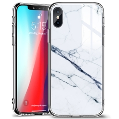 ỐP ESR MARBLE GLASS FOR IPHONE X SERIES