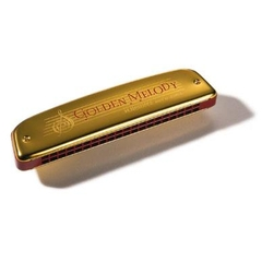 Kèn Harmonica Tremolo Golden Melody Key G M241608