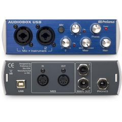 Audiobox Usb