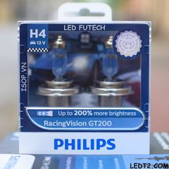 Đèn pha Halogen Philips Racing Vision GT200