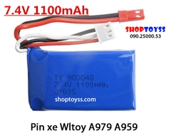 Pin tàu FT007 7.4V 1100 Mah