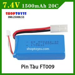 Pin 7.4V 1500 Mah tàu FT009