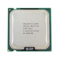 Intel core 2 duo E8200