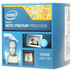 CPU Intel DC G3260 3.3G/3MB/SK1150 Box (Haswell)