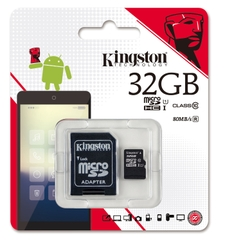 Thẻ nhớ kingston 32GB class 10 CH