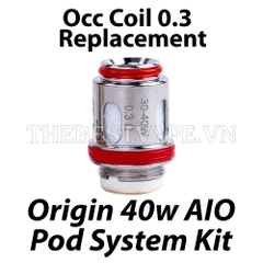 Occ Coil Replacement ORIGIN 40w Pod System Kit Vape Oxva 0.5 ohm