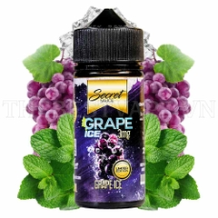 Tinh dầu vape Grape Ice 100ml - Secret Sauce  giá rẻ