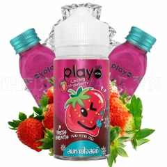 Tinh dầu vape malaysia Strawberry Play 100ml 1