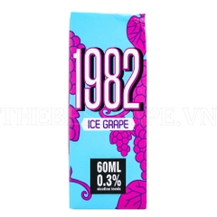 Tinh dầu vape mỹ Ice Grape 1982 60ml 2