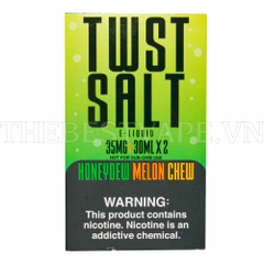 Tinh dầu vape mỹ Salt Nicotine Honeydew Melon Chew Twist 30ml 2