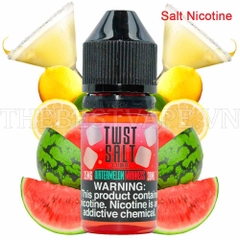 Tinh dầu vape mỹ Salt Nicotine Watermelon Madness Twist 30ml 1