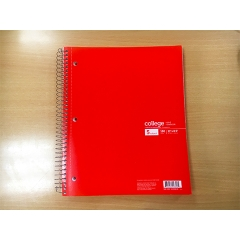 5 subjects Spital notebook 180CT, 11x8.5