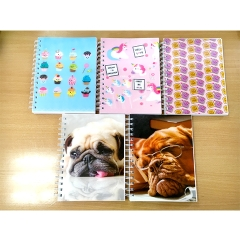 Spiral notebook 150CT, 8x6