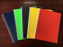 Spiral notebook 70CT, 10.5x8