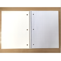 Spiral notebook 100CT, 10.5x8