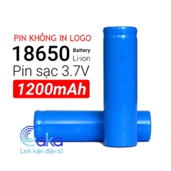 Pin Cell 18650 1200mAh 3.7V Xả 5C