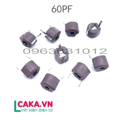Tụ Xoay 60P 6mm