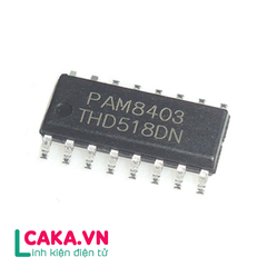 IC PAM8403 3Wx2 SOP16,IC Audio