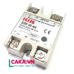 Solid State Relay SSR-40AA 40A Fotek AC