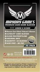 Mayday Games Premium Card Sleeves (50 pack) (49 x 93mm)