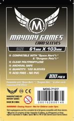 Mayday Games Card Sleeves (100 pack) (61 x 103mm)