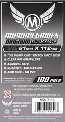 Mayday Games Card Sleeves (100 pack) (61 x 112mm)