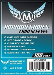 Mayday Games Card Sleeves (100 pack) (59 x 92mm)