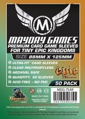 Mayday Games Premium Card Sleeves (50 pack) (88 x 125mm)