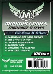 Mayday Games Card Sleeves (100 pack) (63.5 x 88mm)