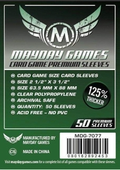 Mayday Games Premium Card Sleeves (50 pack) (63.5 x 88mm)