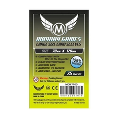 Mayday Games Premium Card Sleeves (75 pack) (70 x 120mm)
