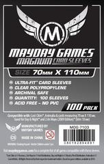 Mayday Games Card Sleeves (100 pack) (70 x 110mm)