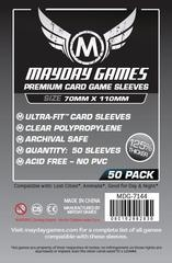 Mayday Games Premium Card Sleeves (50 pack) (70 x 110mm)