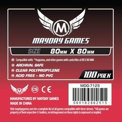 Mayday Games Card Sleeves (100 pack) (80 x80mm)