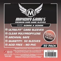 Mayday Games Premium Card Sleeves (50 pack) (80 x80mm)