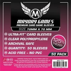 Mayday Games Premium Card Sleeves (50 pack) (70 x 70mm)