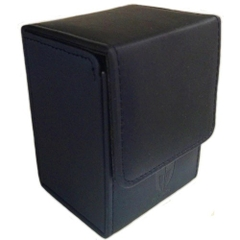 Max Protection Ion Deck Box: Blue Leatherette